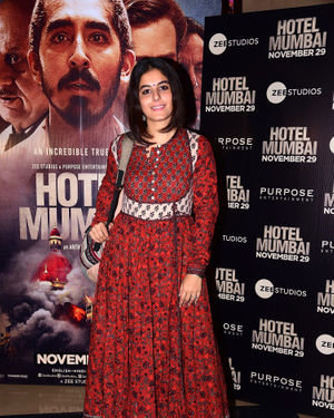 Isha Talwar - Photos: Screening Of Film Hotel Mumbai At Juhu