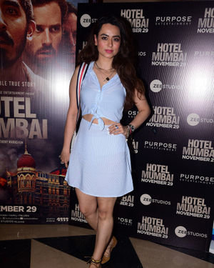 Soundarya Sharma - Photos: Screening Of Film Hotel Mumbai At Juhu | Picture 1702011