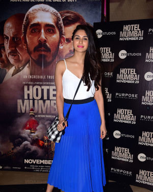 Nikita Dutta - Photos: Screening Of Film Hotel Mumbai At Juhu