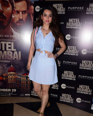 Soundarya Sharma - Photos: Screening Of Film Hotel Mumbai At Juhu