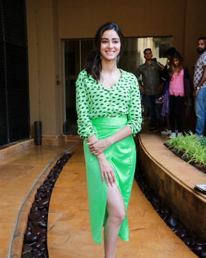 Ananya Pandey - Photos: Promotion Of Film Pati Patni Aur Woh | Picture 1702530