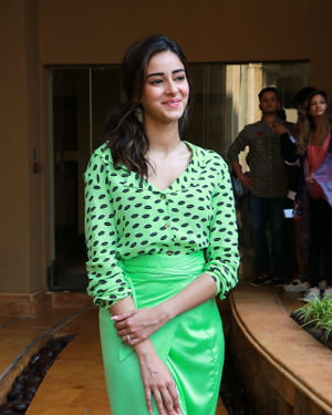 Ananya Pandey - Photos: Promotion Of Film Pati Patni Aur Woh | Picture 1702529