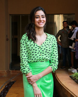 Ananya Pandey - Photos: Promotion Of Film Pati Patni Aur Woh | Picture 1702535