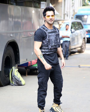 Photos: Varun Dhawan At The Shoot Of Breezer Vivid Shuffle Music Music Video
