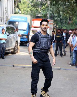 Photos: Varun Dhawan At The Shoot Of Breezer Vivid Shuffle Music Music Video | Picture 1702567