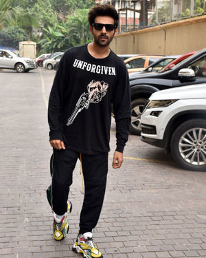 Kartik Aaryan - Photos: Promotion Of Film Pati Patni Aur Woh