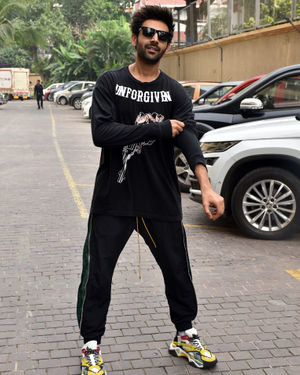 Kartik Aaryan - Photos: Promotion Of Film Pati Patni Aur Woh | Picture 1703367