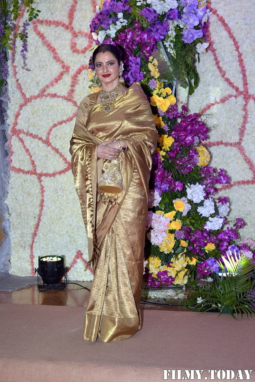 Rekha - Photos: Wedding Reception Of Sooraj Barjatya's Son Devansh At Jw Marriott Juhu | Picture 1703050