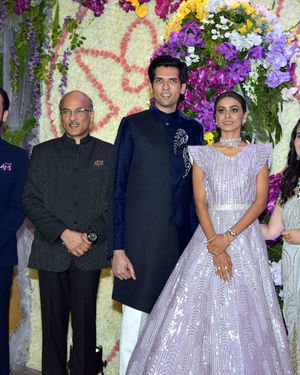 Photos: Wedding Reception Of Sooraj Barjatya's Son Devansh At Jw Marriott Juhu | Picture 1703012