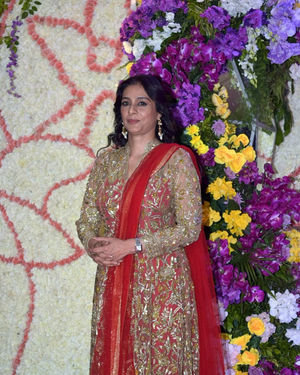 Tabu - Photos: Wedding Reception Of Sooraj Barjatya's Son Devansh At Jw Marriott Juhu
