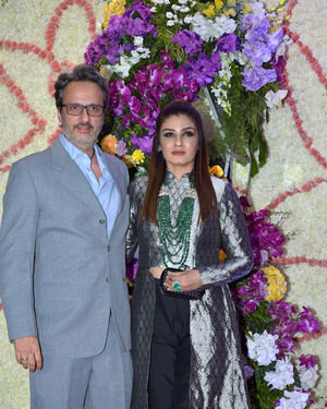 Photos: Wedding Reception Of Sooraj Barjatya's Son Devansh At Jw Marriott Juhu | Picture 1703018
