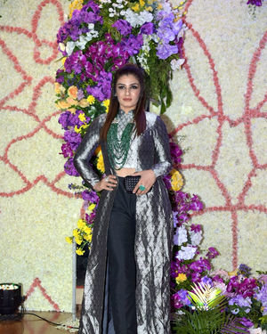 Raveena Tandon - Photos: Wedding Reception Of Sooraj Barjatya's Son Devansh At Jw Marriott Juhu | Picture 1703019