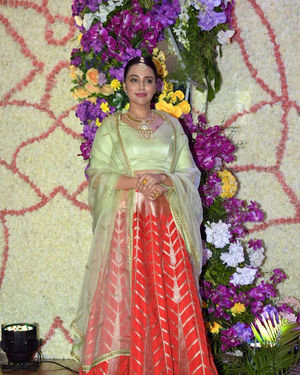 Swara Bhaskar - Photos: Wedding Reception Of Sooraj Barjatya's Son Devansh At Jw Marriott Juhu | Picture 1703074