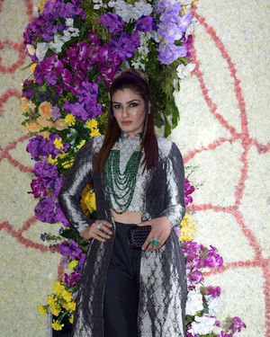 Raveena Tandon - Photos: Wedding Reception Of Sooraj Barjatya's Son Devansh At Jw Marriott Juhu