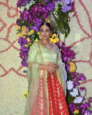 Swara Bhaskar - Photos: Wedding Reception Of Sooraj Barjatya's Son Devansh At Jw Marriott Juhu
