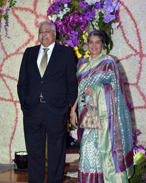 Photos: Wedding Reception Of Sooraj Barjatya's Son Devansh At Jw Marriott Juhu | Picture 1703044