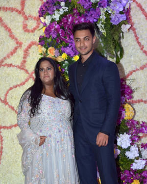 Photos: Wedding Reception Of Sooraj Barjatya's Son Devansh At Jw Marriott Juhu