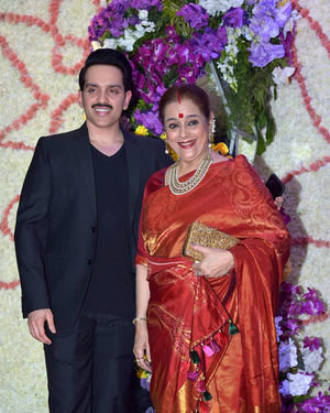 Photos: Wedding Reception Of Sooraj Barjatya's Son Devansh At Jw Marriott Juhu | Picture 1703048