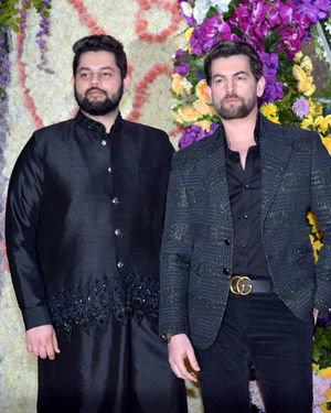 Photos: Wedding Reception Of Sooraj Barjatya's Son Devansh At Jw Marriott Juhu | Picture 1703046
