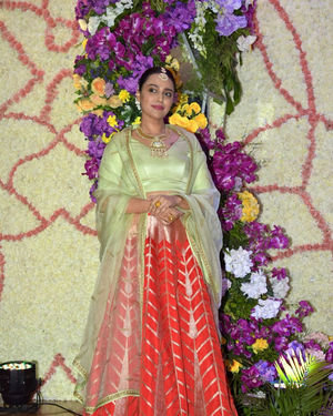Swara Bhaskar - Photos: Wedding Reception Of Sooraj Barjatya's Son Devansh At Jw Marriott Juhu | Picture 1703073