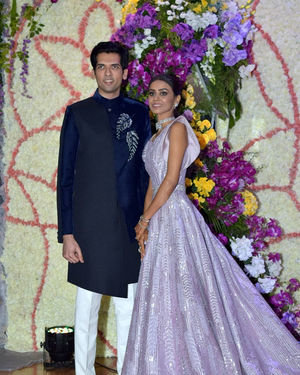 Photos: Wedding Reception Of Sooraj Barjatya's Son Devansh At Jw Marriott Juhu | Picture 1703011