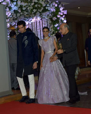 Photos: Wedding Reception Of Sooraj Barjatya's Son Devansh At Jw Marriott Juhu | Picture 1703010