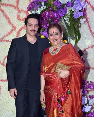 Photos: Wedding Reception Of Sooraj Barjatya's Son Devansh At Jw Marriott Juhu | Picture 1703049