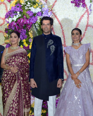 Photos: Wedding Reception Of Sooraj Barjatya's Son Devansh At Jw Marriott Juhu