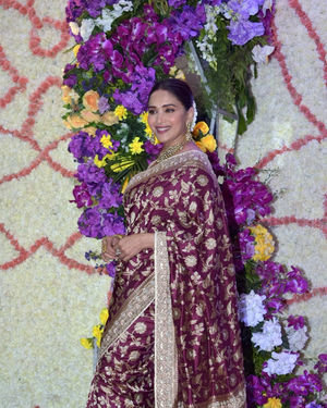 Madhuri Dixit - Photos: Wedding Reception Of Sooraj Barjatya's Son Devansh At Jw Marriott Juhu
