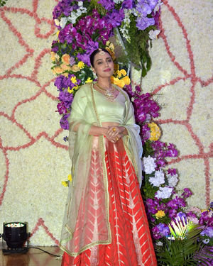 Swara Bhaskar - Photos: Wedding Reception Of Sooraj Barjatya's Son Devansh At Jw Marriott Juhu | Picture 1703075