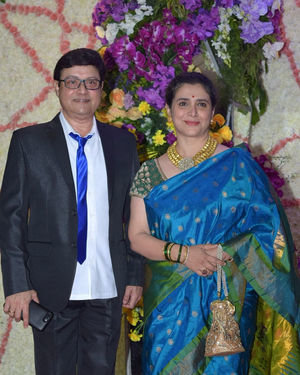 Photos: Wedding Reception Of Sooraj Barjatya's Son Devansh At Jw Marriott Juhu | Picture 1703028