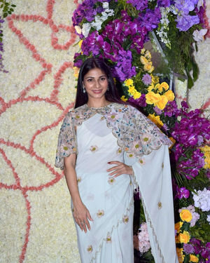 Tanisha Mukherjee - Photos: Wedding Reception Of Sooraj Barjatya's Son Devansh At Jw Marriott Juhu