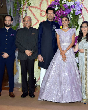 Photos: Wedding Reception Of Sooraj Barjatya's Son Devansh At Jw Marriott Juhu | Picture 1703013