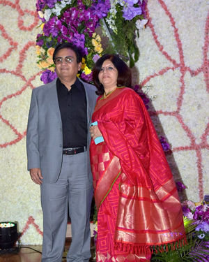 Photos: Wedding Reception Of Sooraj Barjatya's Son Devansh At Jw Marriott Juhu | Picture 1703045