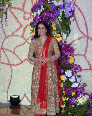 Tabu - Photos: Wedding Reception Of Sooraj Barjatya's Son Devansh At Jw Marriott Juhu | Picture 1703041
