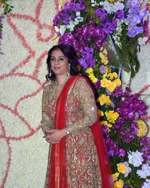 Tabu - Photos: Wedding Reception Of Sooraj Barjatya's Son Devansh At Jw Marriott Juhu | Picture 1703039