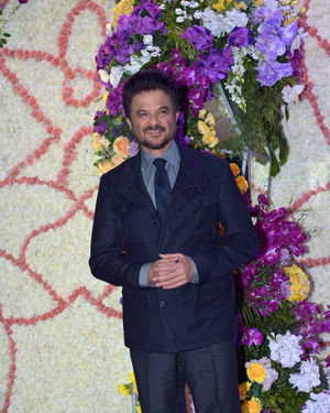 Anil Kapoor - Photos: Wedding Reception Of Sooraj Barjatya's Son Devansh At Jw Marriott Juhu