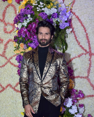 Shahid Kapoor - Photos: Wedding Reception Of Sooraj Barjatya's Son Devansh At Jw Marriott Juhu