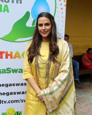 Neha Dhupia - Photos: Celebs At NDTV Swachhagraha At Yashraj Studios In Andheri
