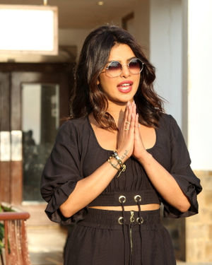 Priyanka Chopra - Photos: Promotion Of Film The Sky Is Pink At Sun N Sand | Picture 1689362