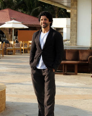 Farhan Akhtar - Photos: Promotion Of Film The Sky Is Pink At Sun N Sand | Picture 1689354