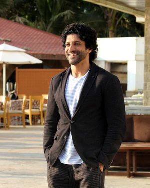 Farhan Akhtar - Photos: Promotion Of Film The Sky Is Pink At Sun N Sand | Picture 1689353
