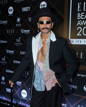 Ranveer Singh - Photos: Elle Beauty Awards 2019