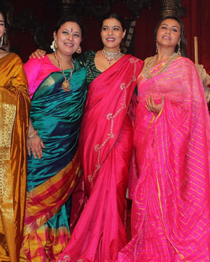 Photos: Celebs At Durga Puja In Juhu