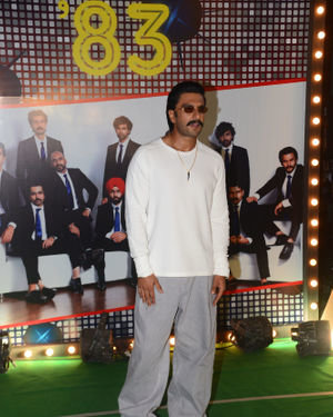 Ranveer Singh - Photos: Wrapup Party Of Film 83 At BKC | Picture 1690397