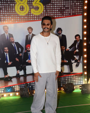 Ranveer Singh - Photos: Wrapup Party Of Film 83 At BKC | Picture 1690399