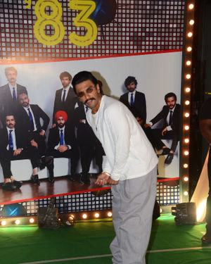 Ranveer Singh - Photos: Wrapup Party Of Film 83 At BKC | Picture 1690398