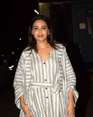 Swara Bhaskar - Photos: Screening Of The Sky Is Pink At PVR Juhu