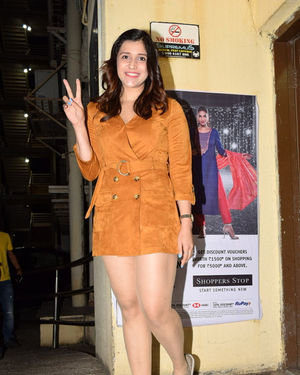 Mannara Chopra - Photos: Screening Of The Sky Is Pink At PVR Juhu