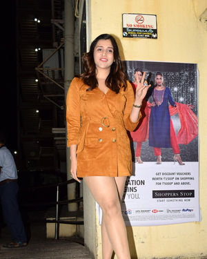 Mannara Chopra - Photos: Screening Of The Sky Is Pink At PVR Juhu | Picture 1690762